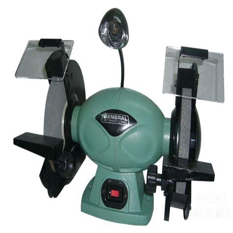 bench grinder rpm general international 110 volt 8 in low rpm bench grinder