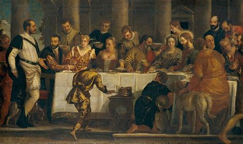 Wedding At Cana Veronese by The Wedding At Cana Painting By Paolo Veronese