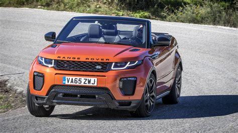 land rover gear top gear s range rover evoque convertible review top gear