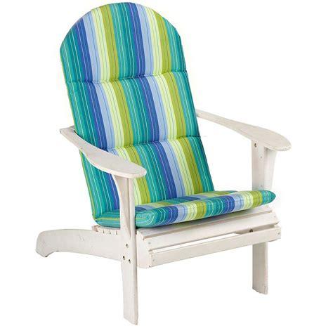 adirondack cusions sunbrella seaside seville outdoor adirondack chair cushion