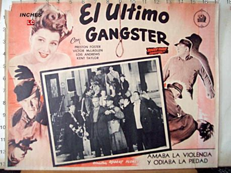 film ultimo gangster quot el ultimo gangster quot movie poster quot the last gangster