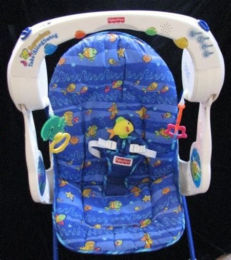 fisher price aquarium take along swing tucson baby gear sold fisher price ocean wonders