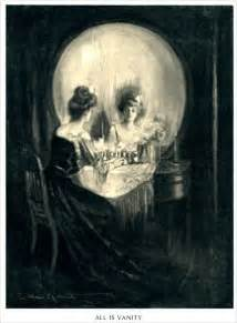 Vanities Paintings The Charles Allen Gillbert Painting From 1892 All Is