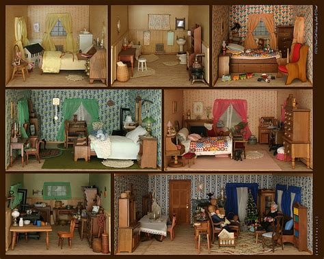 doll house photos deep art nature dollhouse