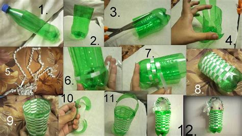 plastic crafts projects craftdesigns creative ideas by using plastic bottles