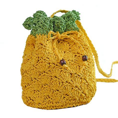 Tas Ananas kopen wholesale knit ananas tas uit china knit