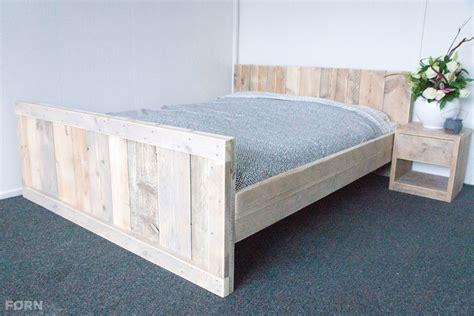 bed van steigerhout steigerhouten bed alna steigerhoutenmeubelshop nl