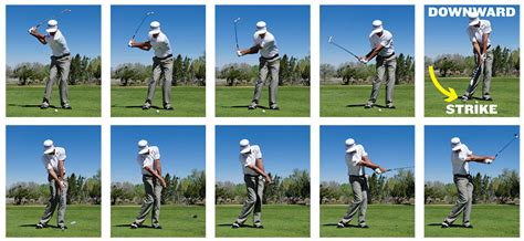 proper iron swing iron play simplified golf tips magazine
