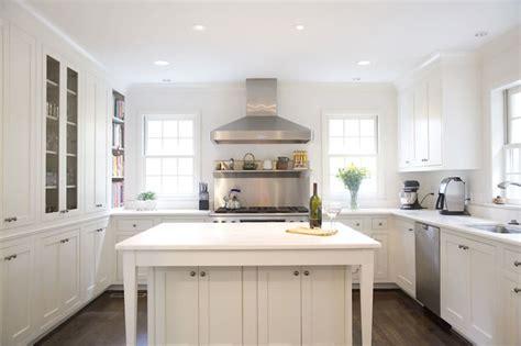 U Shaped Kitchen Transitional Kitchen Twin Companies
