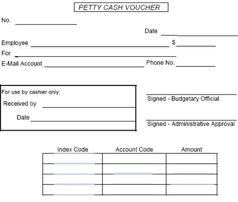 petty receipt voucher template best photos of petty disbursement form petty