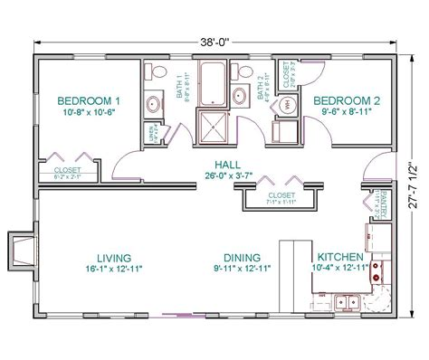 house plans 1100 sq ft 1100 square foot house plans