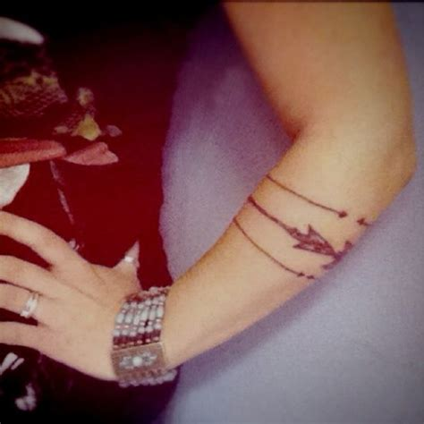 arrow tattoo on arm arrow arm me