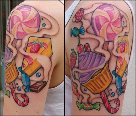 candy tattoo designs best 20 forearm sleeve tattoos ideas on