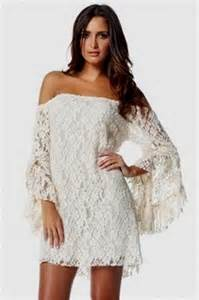 Shoulder white lace dress is part of the cream lace dress with cowboy