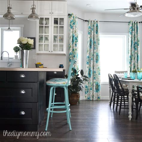 colorful vintage industrial kitchen hometalk