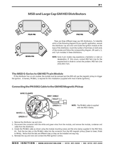 only 4 pin gm hei distributor wiring diagram wiring diagrams
