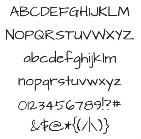 free printable writing fonts handwriting fonts free hand writing