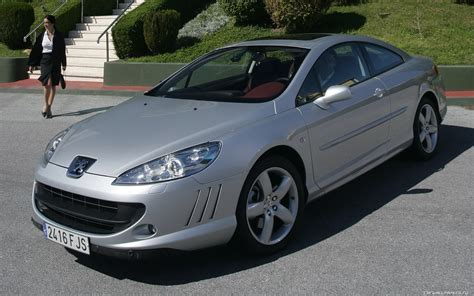 peugeot 407 coupe 2007 peugeot 407 coupe pictures information and specs