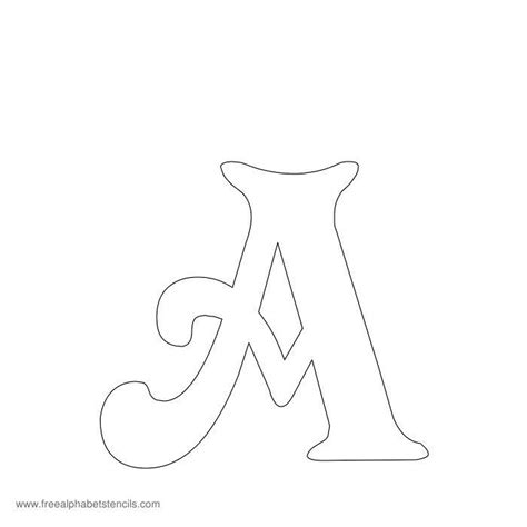 printable letter stencils uk free printable stencils for alphabet letters numbers