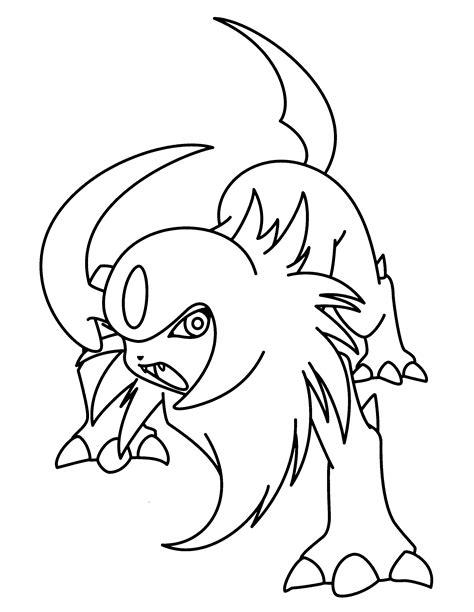 pokemon coloring pages mega absol sch 246 n pokemon mega entwicklung ausmalbilder