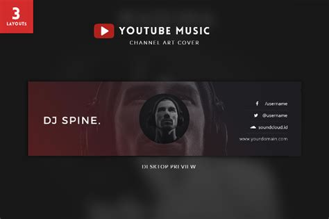 free website templates for youtube youtube channel art template 42 free psd ai vector