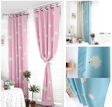 Rustic Finished Curtains Printing Curtain To Child Quality Small Blackout Curtain For free processing high quality rustic clouds printing blackout curtain children bedroom curtains