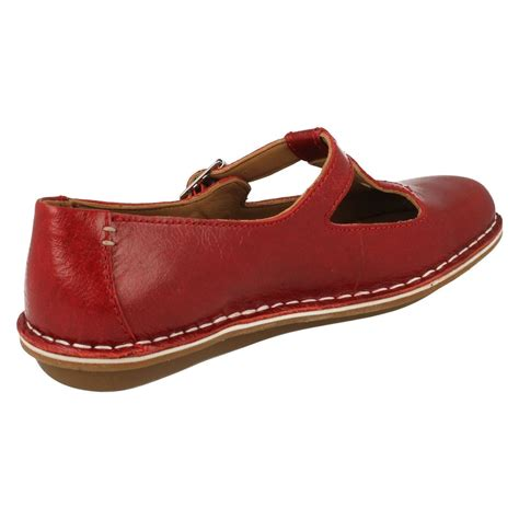 womens t bar flat shoes clarks t bar flat shoes tustin talent ebay