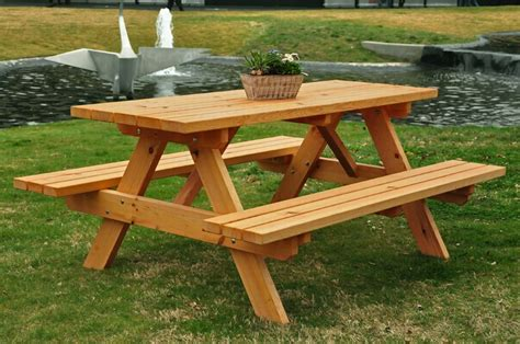 Handmade Picnic Tables For Sale - lawn garden limeberry lumber