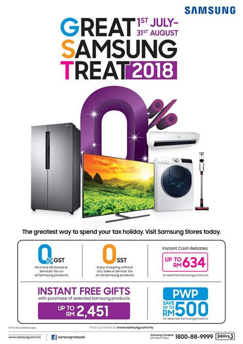 the great samsung treat promotion is here samsung newsroom malaysia