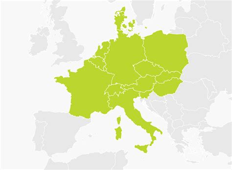 map of central europe map of central europe tomtom