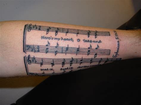 music quote tattoos tattoos designs ideas and meaning tattoos for you