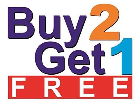 Toyota Buy Three Get One Free Best Any Of My Items Buy 2 Get 1 Free Cheapest Item Is