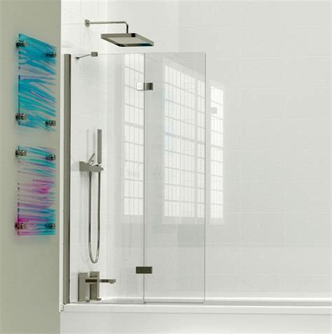 bi fold bath shower screen kudos inspirational 2 panel in fold bath screen