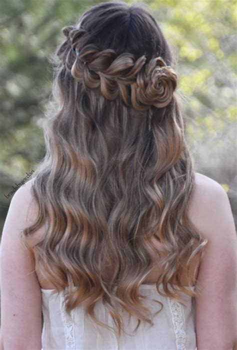 Wedding Hairstyles With Braids And Flowers by Wedding Hairstyles With Braids And Flowers Www Imgkid