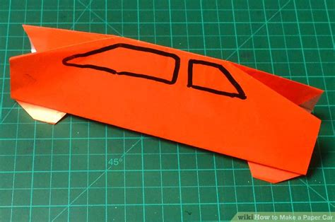 Make A Car With Paper - how to make a paper car with pictures wikihow