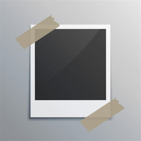 instant photo instant photo frame vector free
