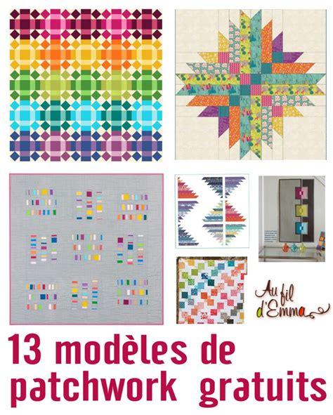 Modele Patchwork mod 232 le patchwork gratuit l atelier d