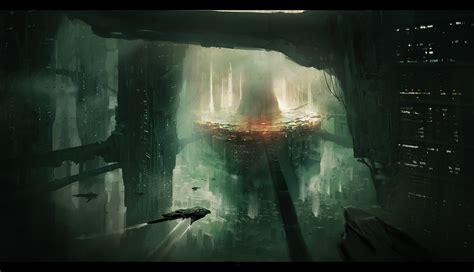 Sci Fi City By Lapec On Deviantart
