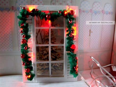 beleuchtung puppenhaus puppenstube puppenhaus girlande mit roter beleuchtung