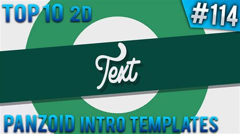 Top 10 Panzoid 2d Intro Templates 114 Free Download Youtube Panzoid Intro Templates
