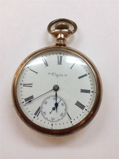 antique elgin pocket open ebay