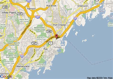 map of rye new york new york map
