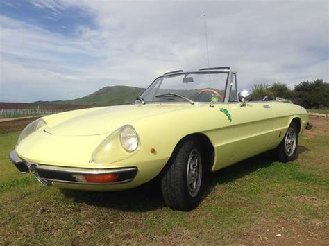 Alfa Romeo United States by Purchase Used 1971 Alfa Romeo 1750 Spider In Mount