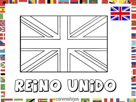 dibujos de banderas del mundo para imprimir bandera de reino unido dibujos de banderas para pintar