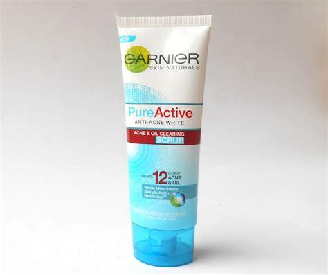 Garnier Active Scrub garnier active anti acne white acne and clearing