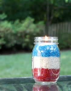Patriotic votives diy fourth of july decorations
