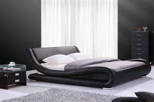 lits cuir design chambre 224 coucher