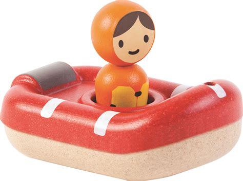 Plan Toys Sea Bath Set Pt5658 coast guard boat bath plantoys available at kidding around