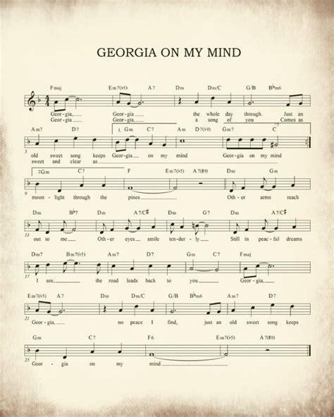georgia   mind sheet  art print