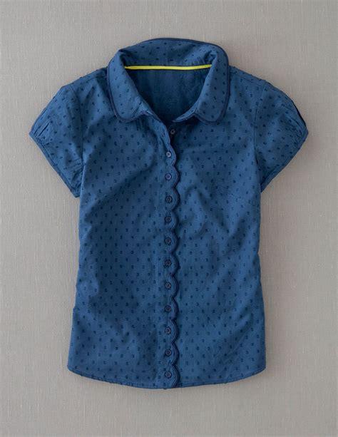Scallop Trim Shirt scallop trim shirt i wanna make this boden